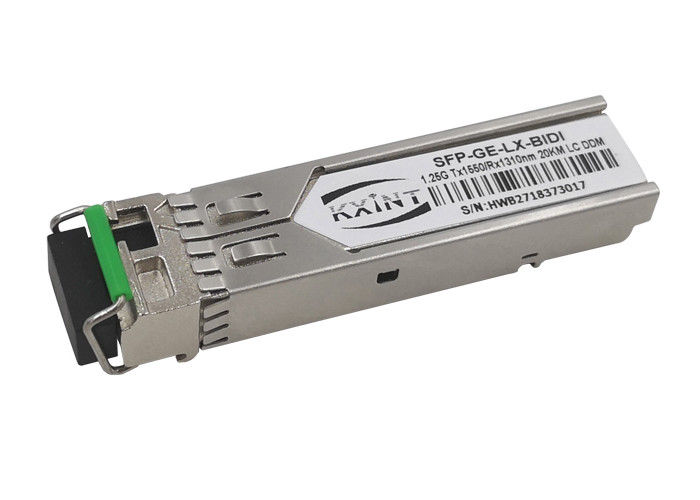 1.25 Gigabit Ethernet Fiber Optic SFP Module LC SX Transceiver 1 Pairs Lot  20km T1550 R1310nm