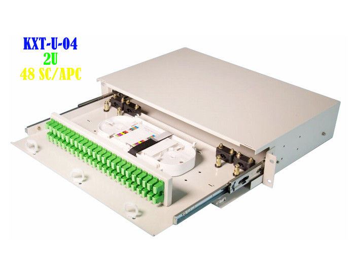 Blank Rack Mount Fiber Patch Panel Termination 6.7kg Separate Insulation